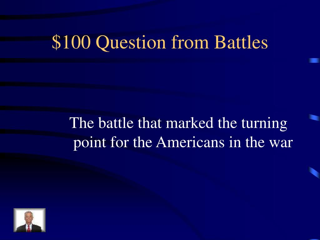 $100 Question from Battles