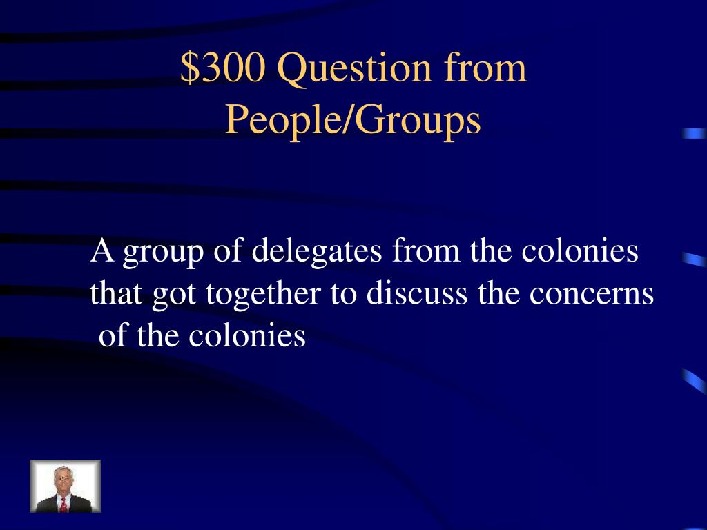 $300 Question from People/Groups