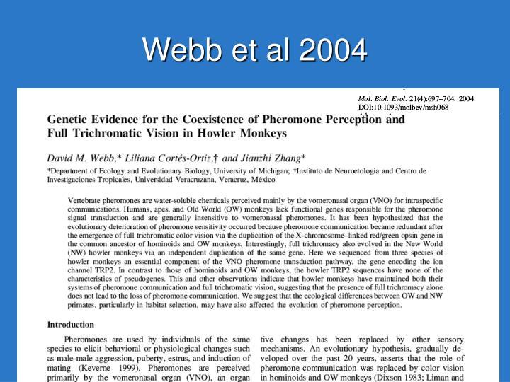 Webb et al 2004