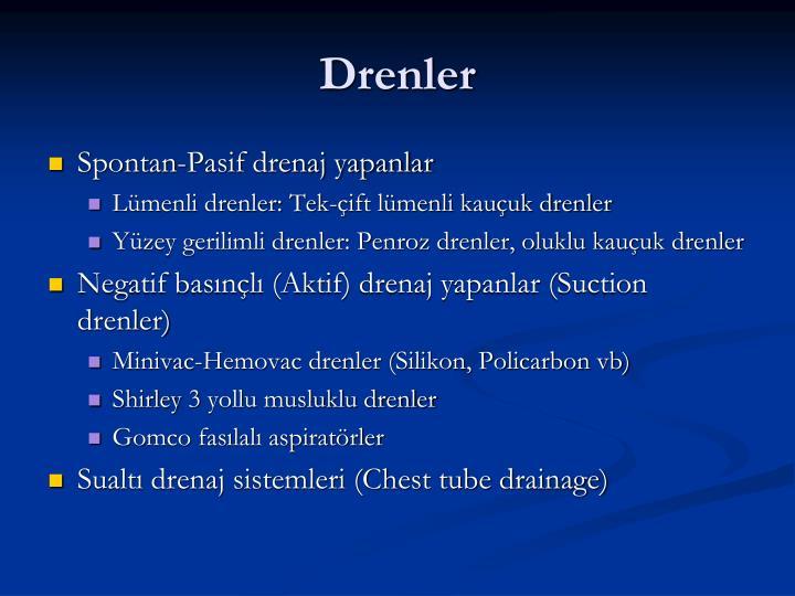 Drenler