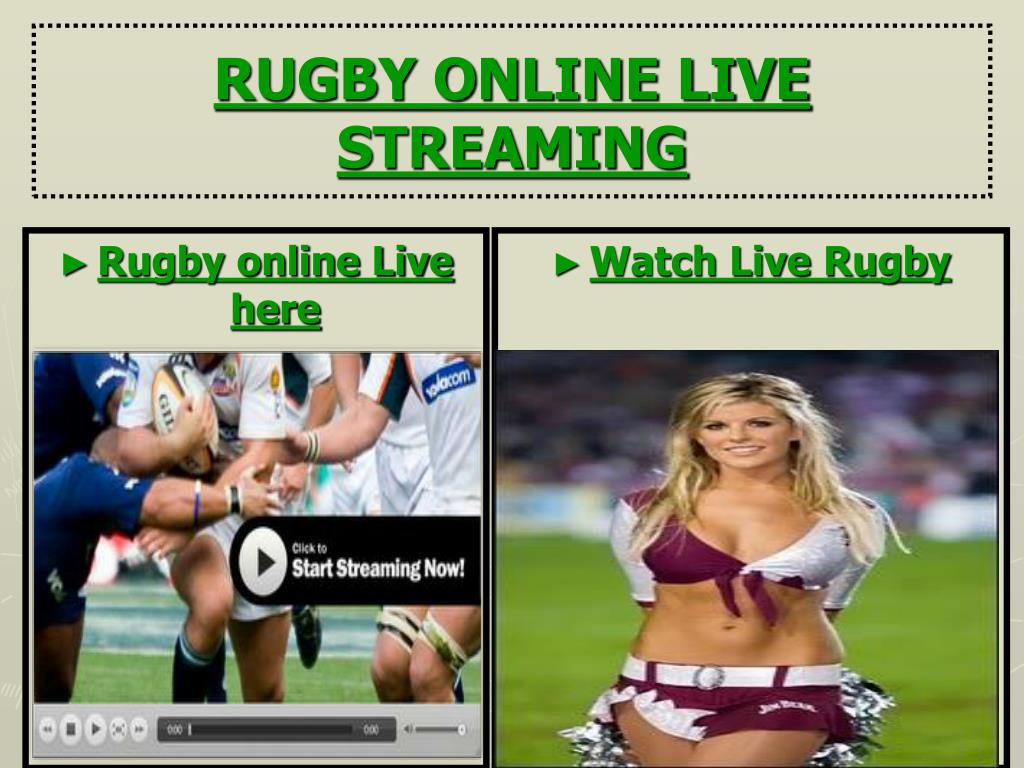 Rugby online Live here