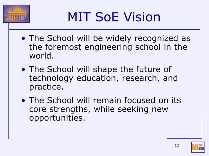 MIT SoE Vision