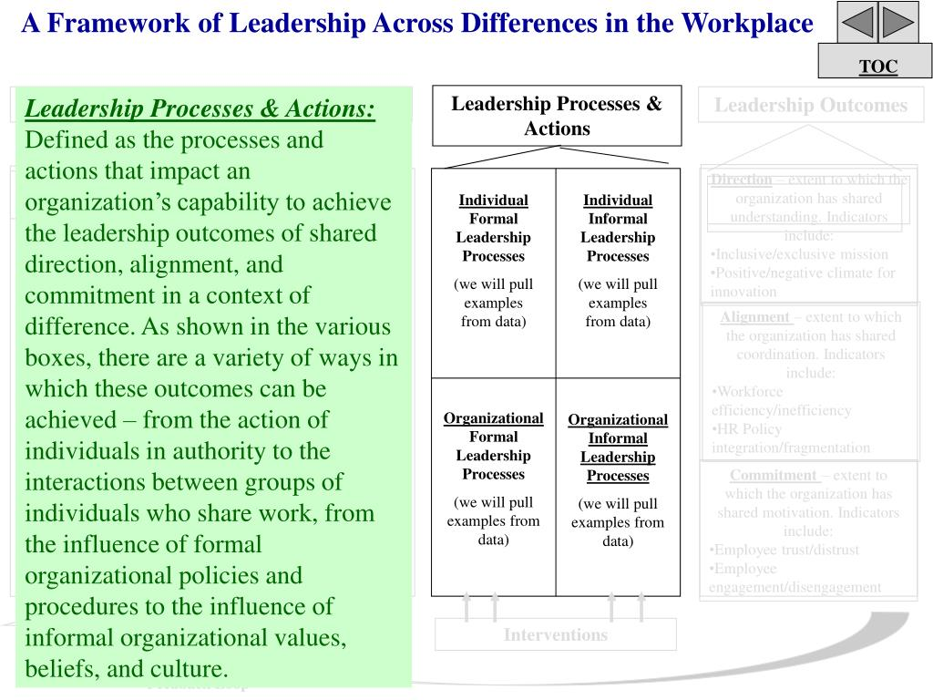 A Framework of Leadership Across Differences in the Workplace