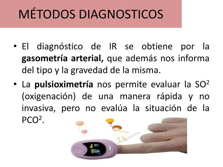 MÉTODOS DIAGNOSTICOS