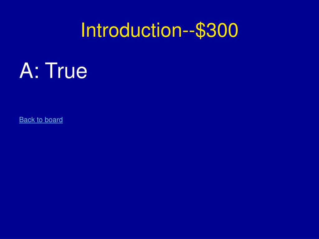 Introduction--$300
