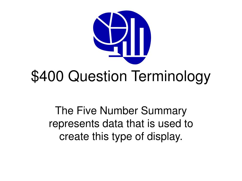 $400 Question Terminology