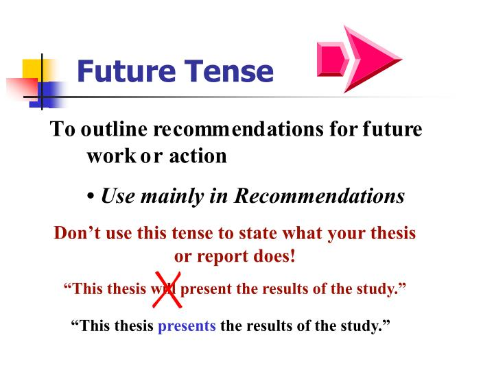 Phd thesis on tense logic