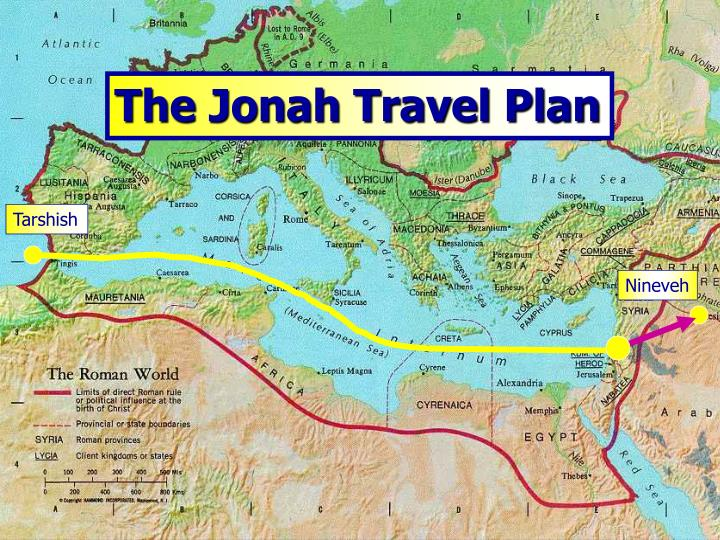 The Jonah Travel Plan