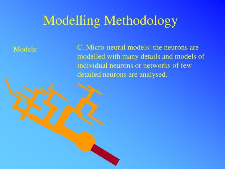 Modelling Methodology