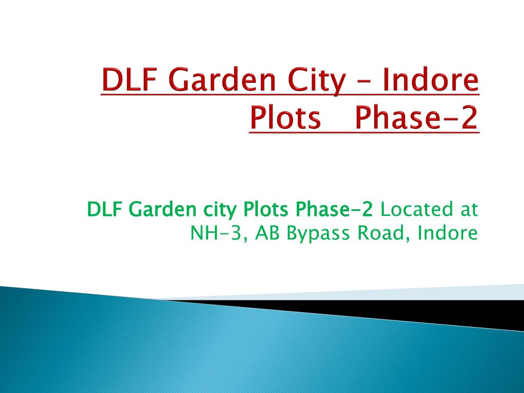 DLF Garden City – Indore Plots