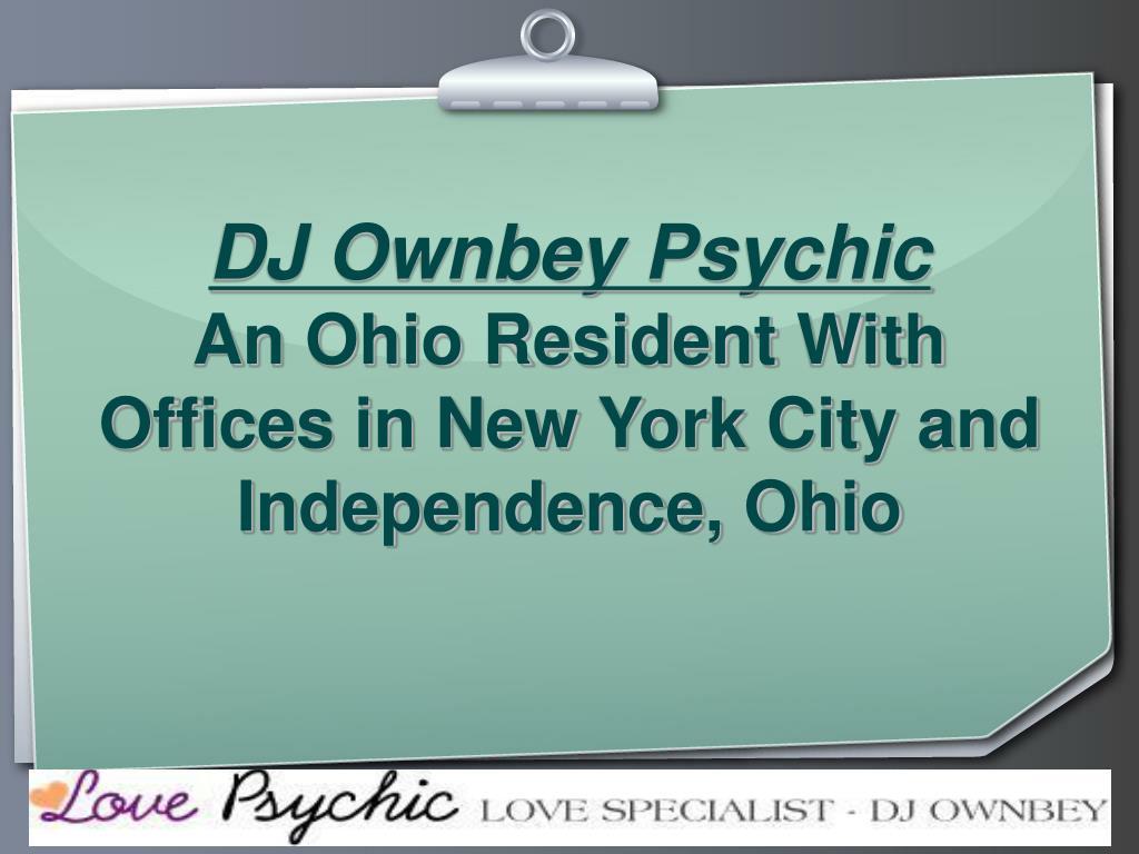 DJ Ownbey Psychic