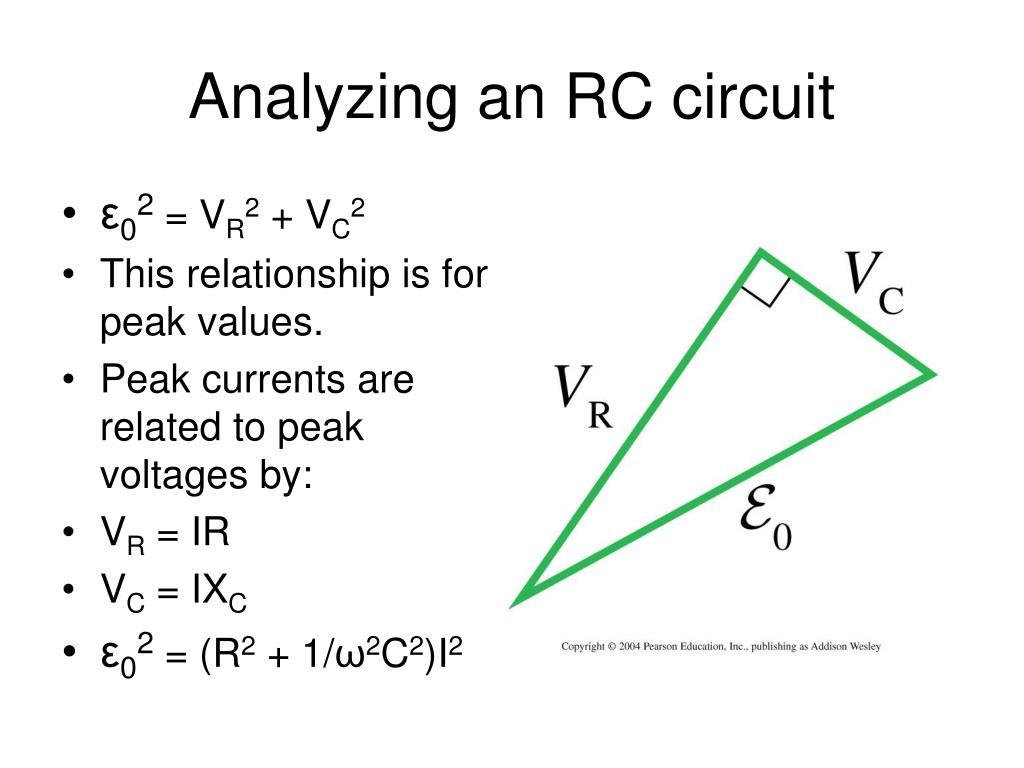 Analyzing an RC circuit