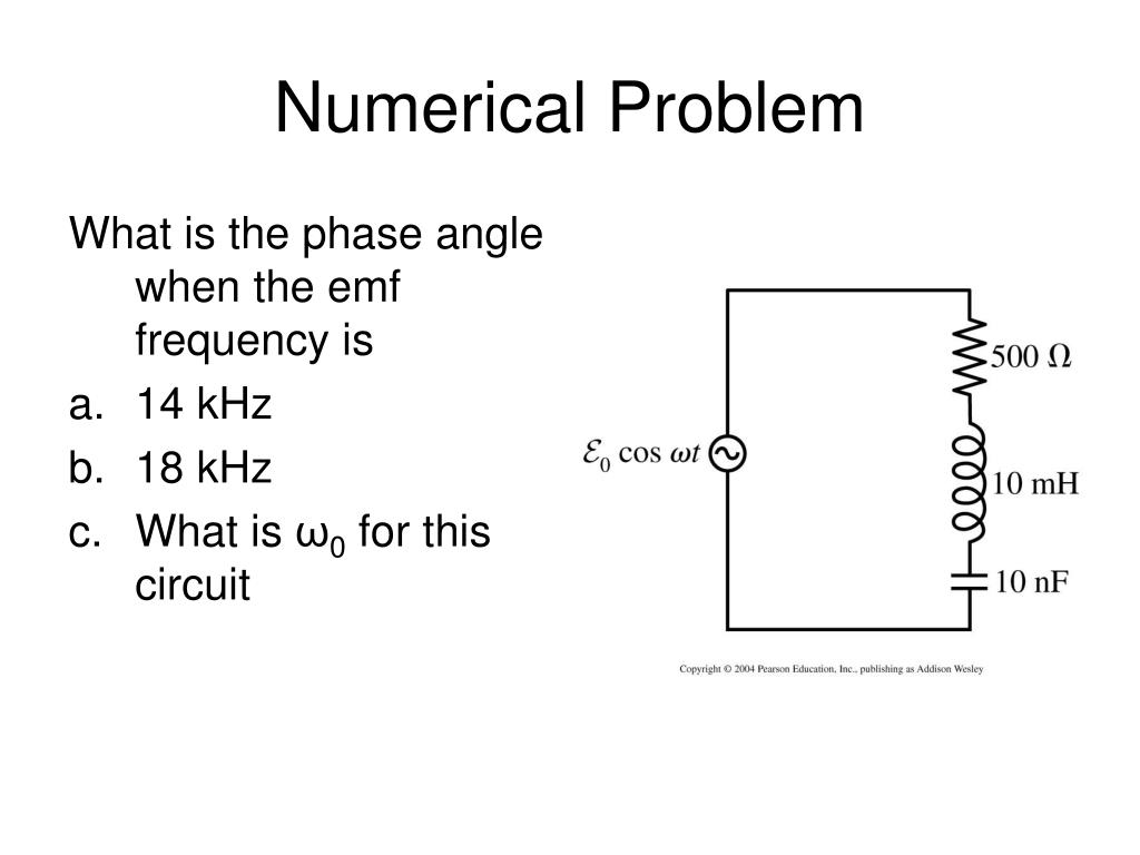 Numerical Problem