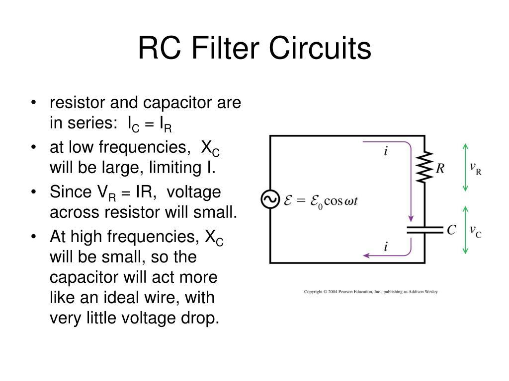 RC Filter Circuits