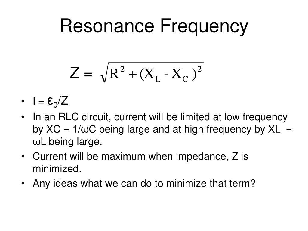 Resonance Frequency