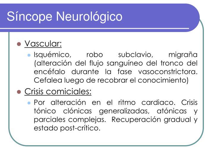 Síncope Neurológico