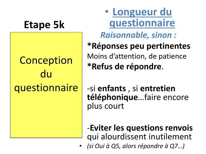 Etape 5k
