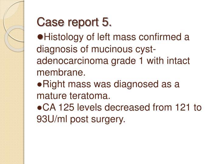 Case report 5.
