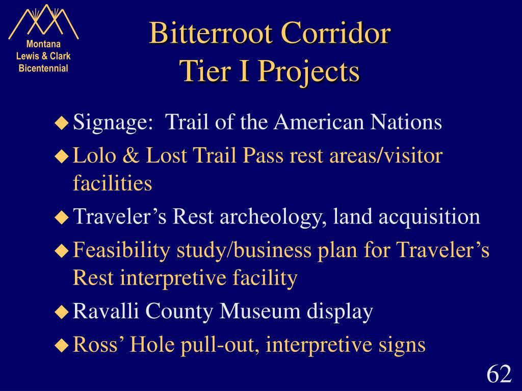Bitterroot Corridor