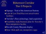 bitterroot corridor tier i projects