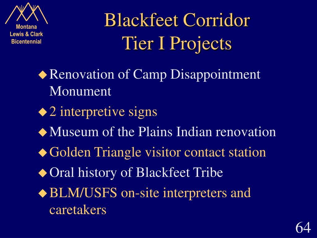 Blackfeet Corridor