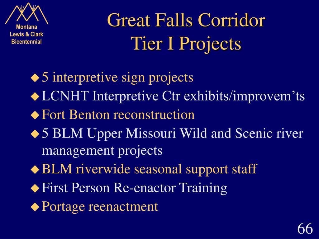 Great Falls Corridor