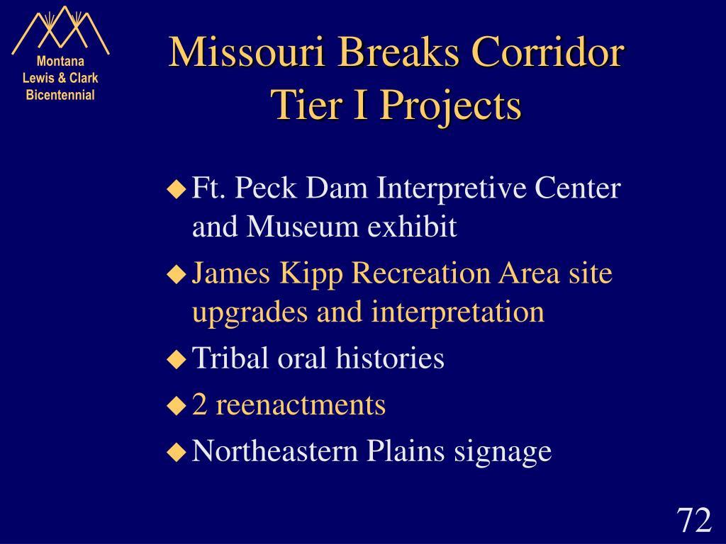Missouri Breaks Corridor