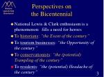 perspectives on the bicentennial