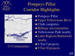 pompeys pillar corridor highlights