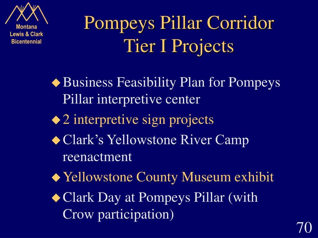 Pompeys Pillar Corridor