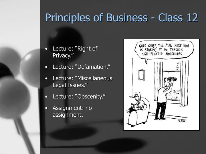 Principles of business class 12 l.jpg