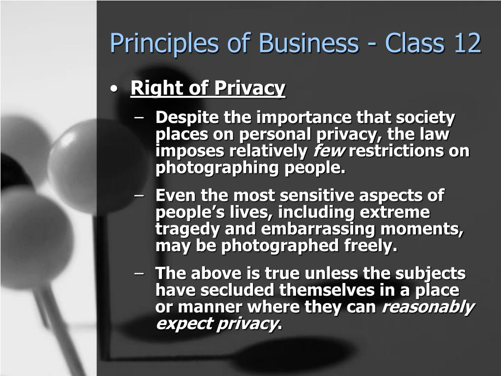 Principles of Business - Class 12