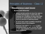 principles of business class 1252