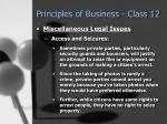 principles of business class 1253