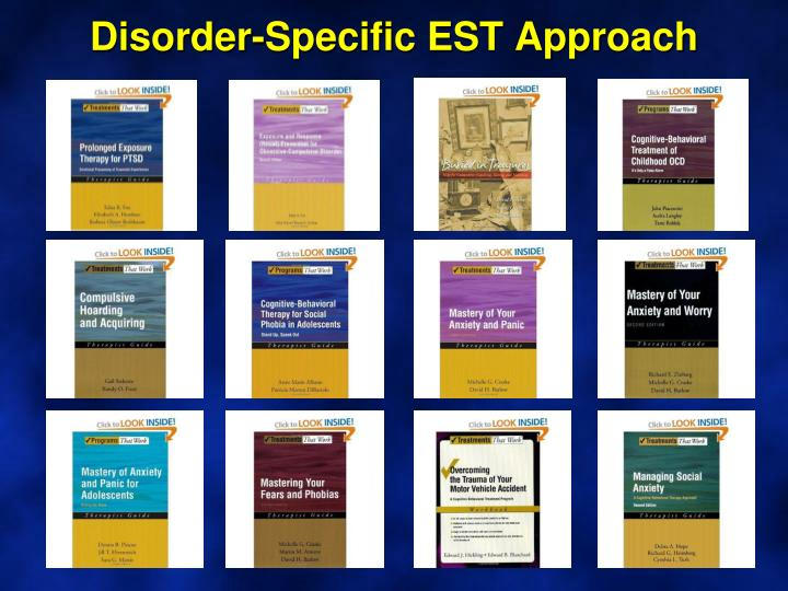 Disorder-Specific EST Approach