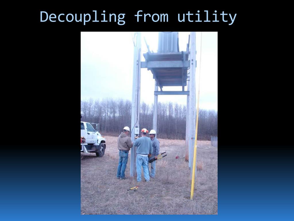 Decoupling from utility