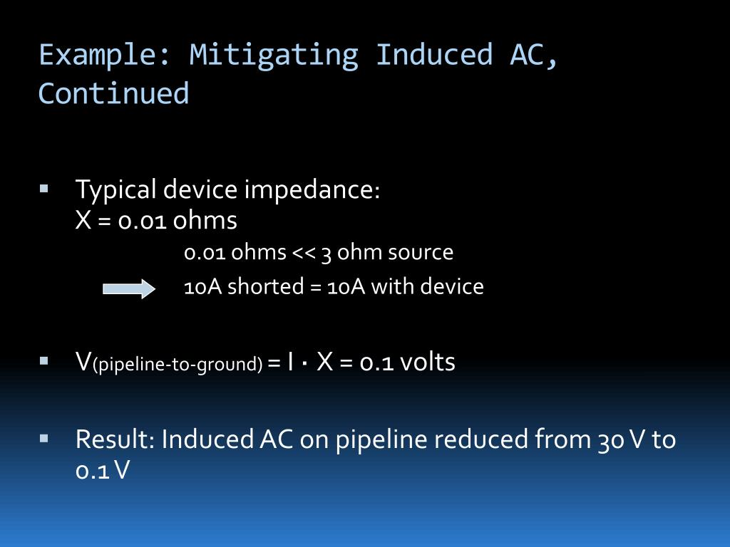 Example: Mitigating Induced AC, Continued
