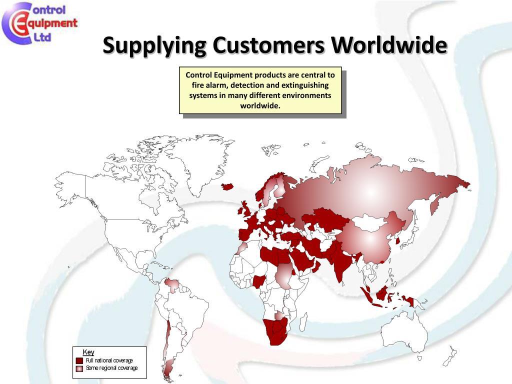 Supplying Customers Worldwide