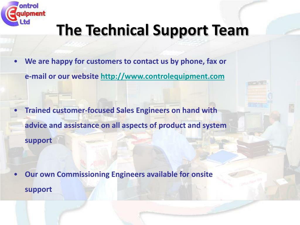 The Technical Support Team