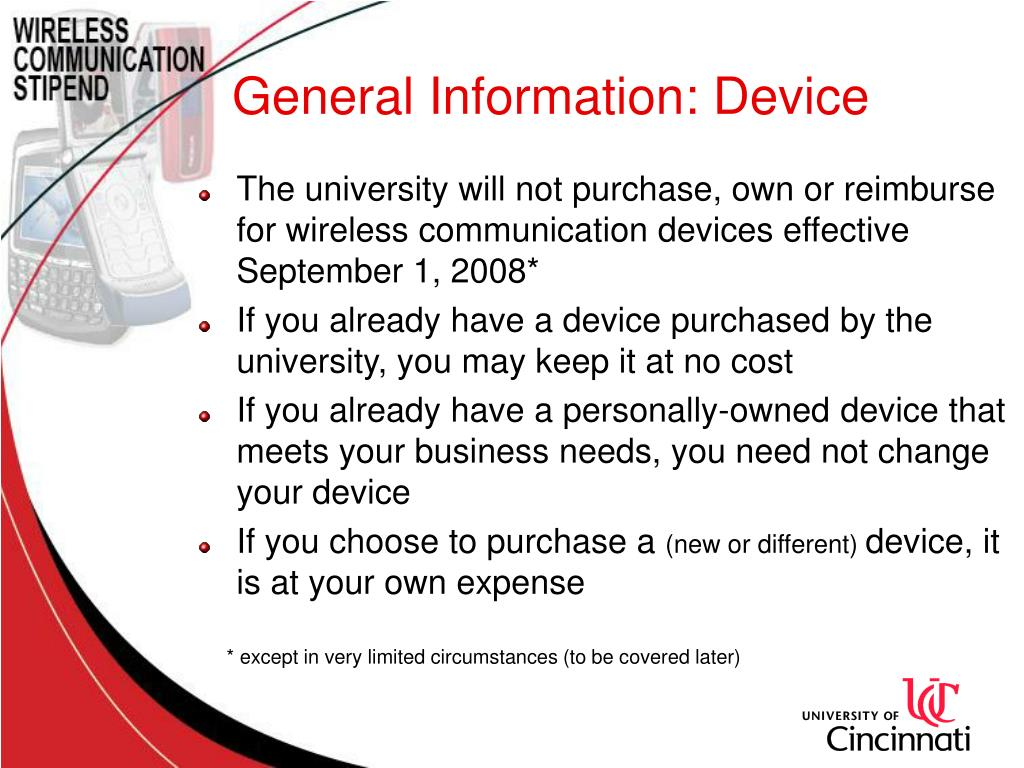 General Information: Device