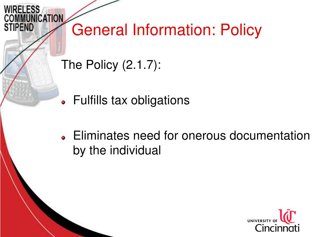 General Information: Policy