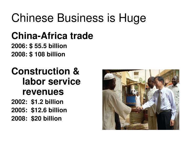 China-Africa trade