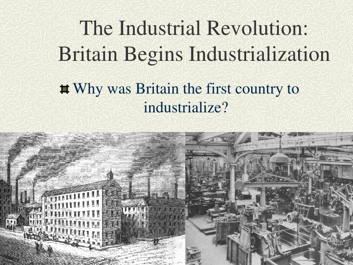 thesis paper on industrial revolution Industrial revolution thesis - get the necessary report here and put aside your worries experience the benefits of qualified custom writing assistance available here.