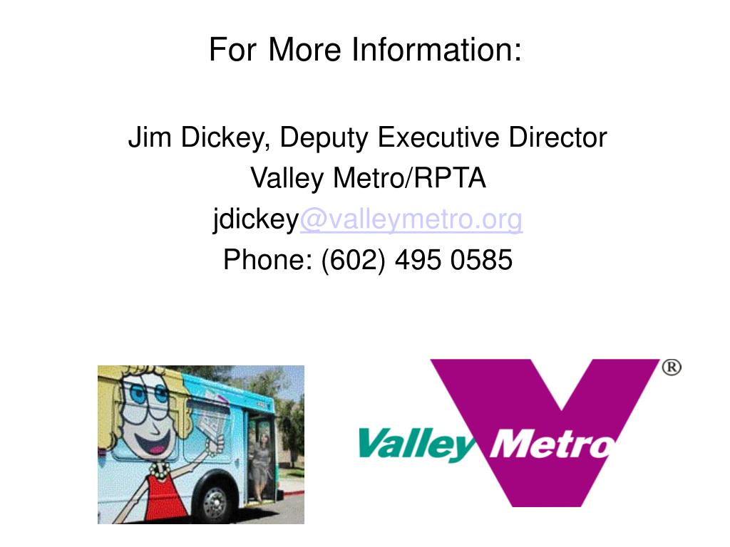 Jim Dickey, Deputy Executive Director