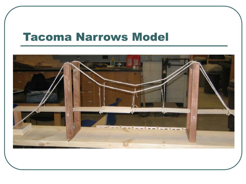 Tacoma Narrows Model