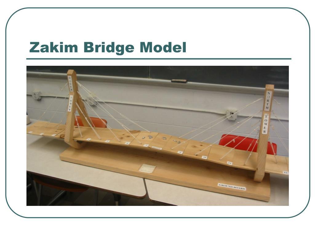 Zakim Bridge Model