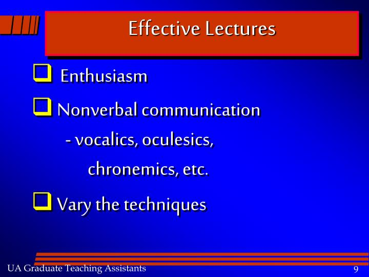 Effective Lectures