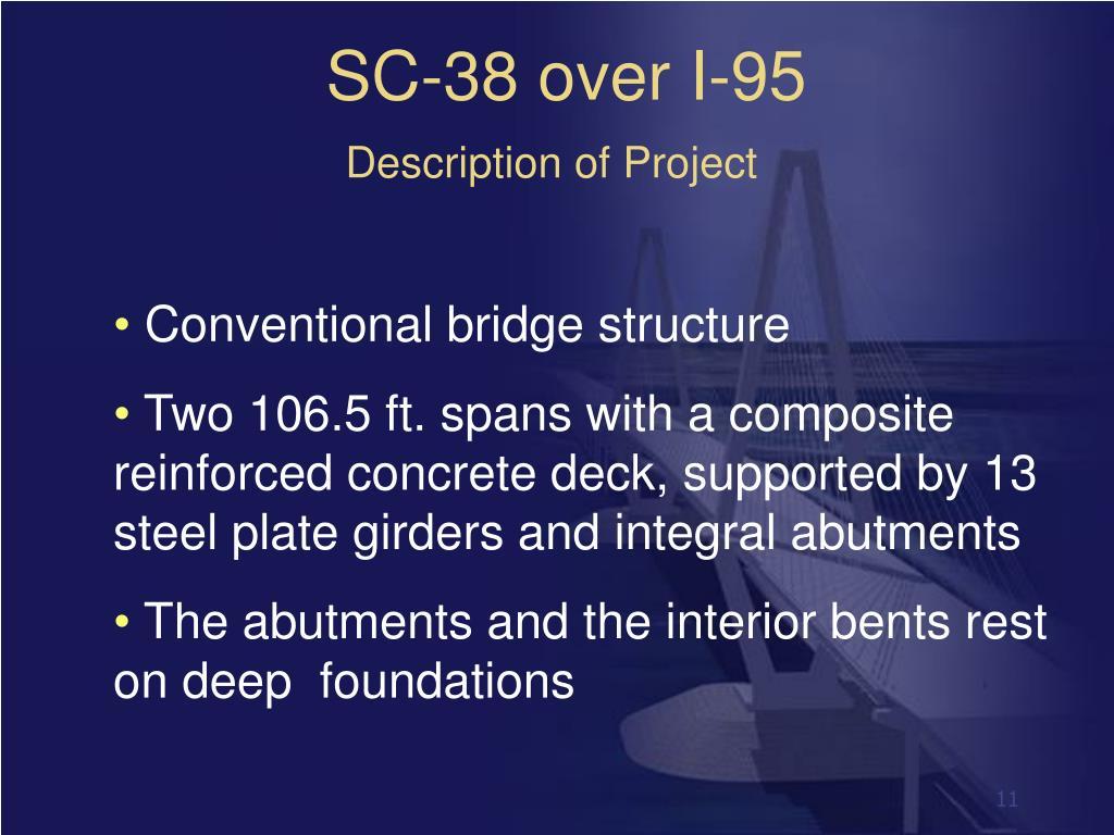 SC-38 over I-95