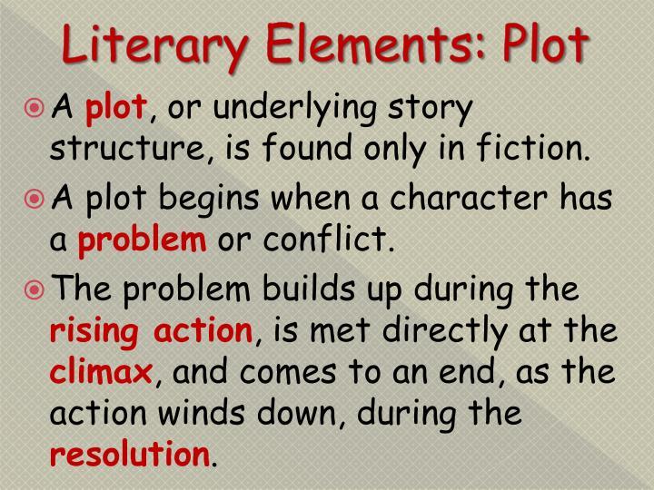 Literary Elements: Plot