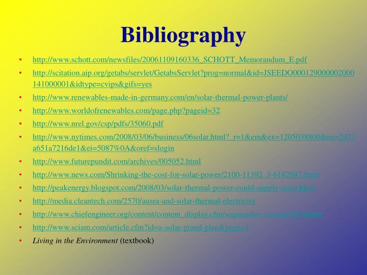 Bibliography